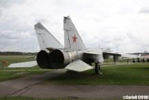 Museum of Aviation Technology Minsk Belarus Air Museum MiG-25