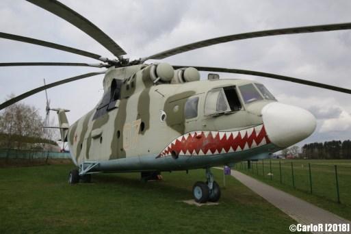Museum of Aviation Technology Minsk Belarus Air Museum Mil Mi.26