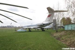 Museum of Aviation Technology Minsk Belarus Air Museum Tupolev Tu-134