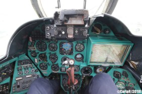 Museum of Aviation Technology Minsk Air Museum Mil Mi-24 Cockpit