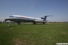 Minsk Airport Museum of Aviation Technology Minsk Air Museum Tupolev Tu-154