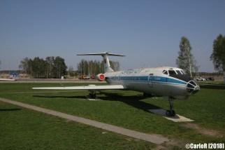 Minsk Airport Museum of Aviation Technology Minsk Air Museum Tupolev Tu-134