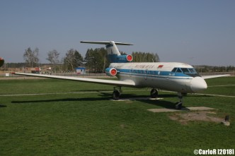 Minsk Airport Museum of Aviation Technology Minsk Air Museum Yakovlev Yak-40