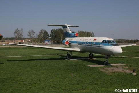 Minsk Airport Museum of Aviation Technology Minsk Air Museum Yakovlev Yak-40