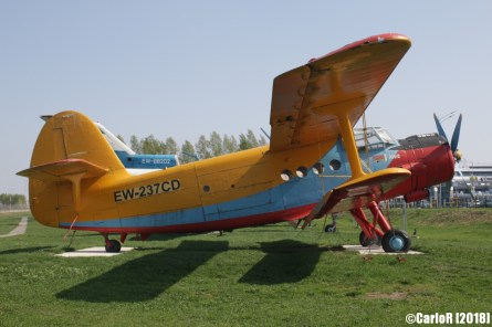Minsk Airport Museum of Aviation Technology Minsk Air Museum Antonov An-2