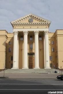 Minsk Belarus KGB Building