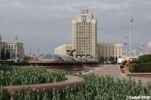 Minsk Belarus Lenin Square