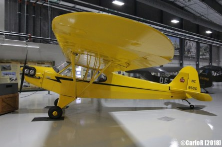 Lone Star Flight Museum Piper Cub