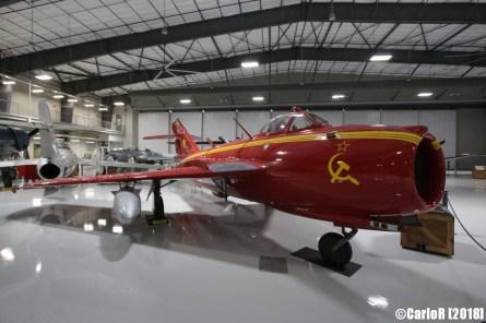 Lone Star Flight Museum MiG-17