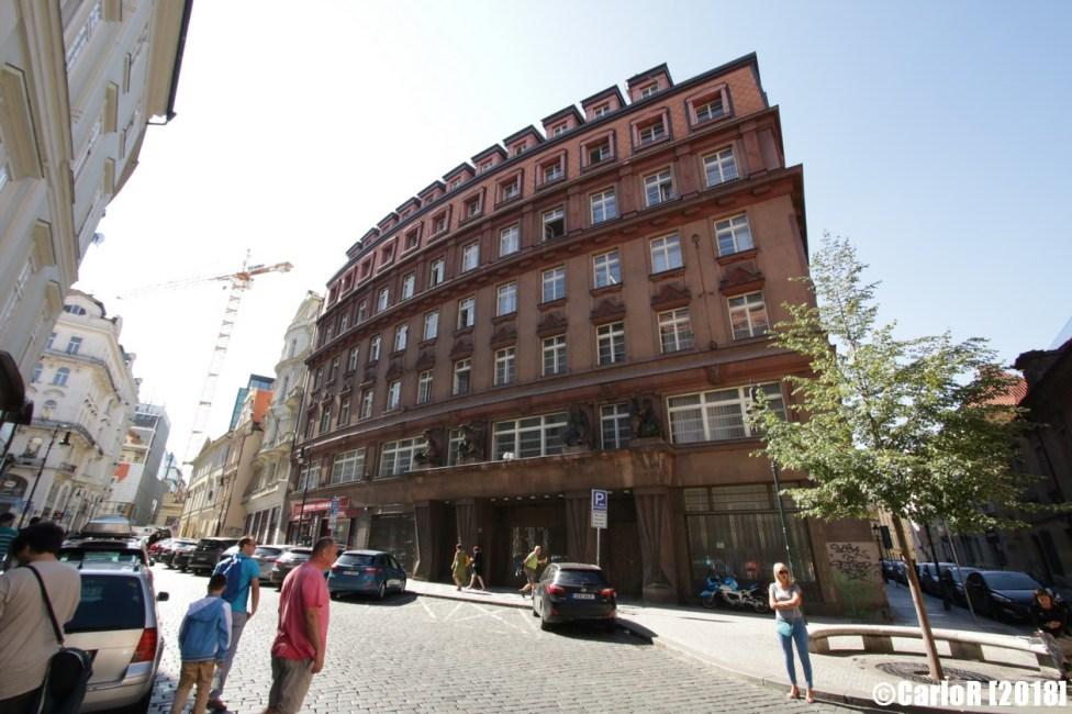 Secret Communist Police STB Headquarters Prague