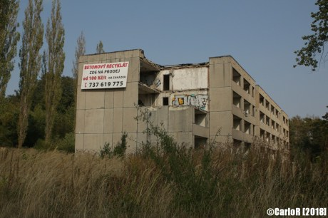 Milovice Abandoned Soviet Base Czech Bozi Dar Ghost