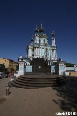 Kiev Saint Andrew Cathedral