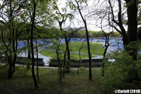 Kiev Soviet Architecture Dynamo Stadium