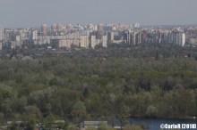 Kiev Soviet Architecture Panorama River Dnepr