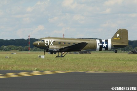 Jagel Spotterday 2019 70th Anniversary Berlin Airlift Douglas C-47A USAAF 315087 N150D