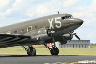 Jagel Spotterday 2019 70th Anniversary Berlin Airlift Douglas C-47A USAAF 330647 N62CC