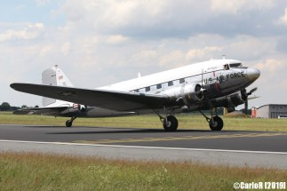 Jagel Spotterday 2019 70th Anniversary Berlin Airlift Douglas C-47A US Air Force 0-30665