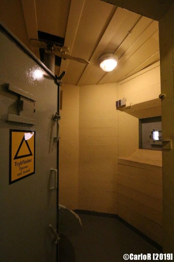 Koldkrigsmuseum Langelandsfort, Bagenkop - Cold War Museum Denmark - Cannon Battery, Bunker and Operations Center