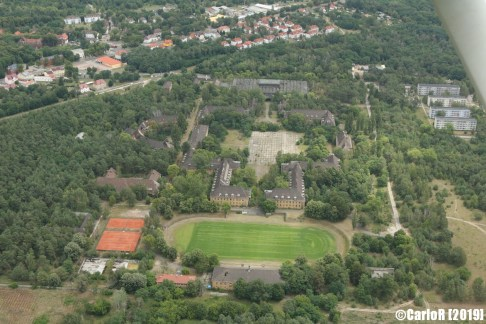 Juterbog/Altes Lager Soviet Base Abandoned East Germany (DDR) - Aerial View Picture Luftbild