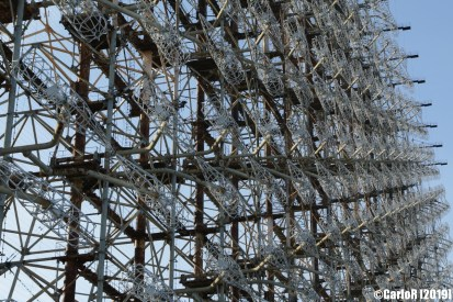 Radar Duga Woodpecker Early Warning Soviet Military Red Army Cold War Chernobyl Nuclear Plant Exclusion Zone Pripyat