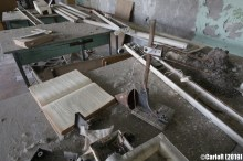 Ghost Town School Pripyat Cold War Chernobyl Nuclear Power Plant Exclusion Zone