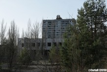 Ghost Town Pripyat Cold War Chernobyl Nuclear Power Plant Exclusion Zone