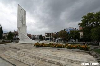StrugaNorthMacedoniaTitoYugoslaviaCommunistMonument