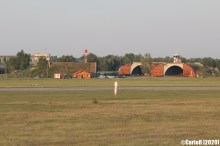 Tokol Budapest Abandoned Soviet Base Aircraft Shelter Hungary Cold War