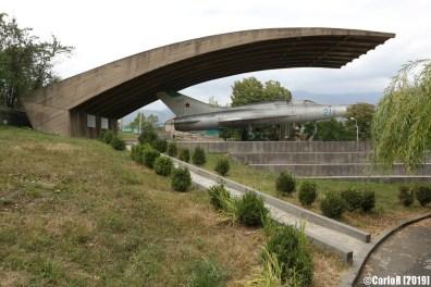 Mikoyan MiG memorial - Alaverdi, Armenia