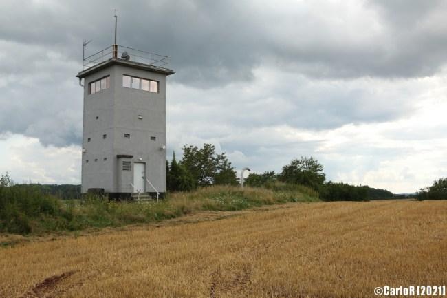 Gompertshausen German Inner Border Innerdeutsche Grenze