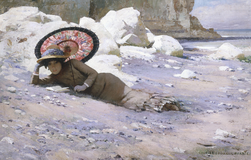 https://i2.wp.com/www.sightswithin.com/Charles.Sprague.Pearce/Reading_by_the_Shore.jpg