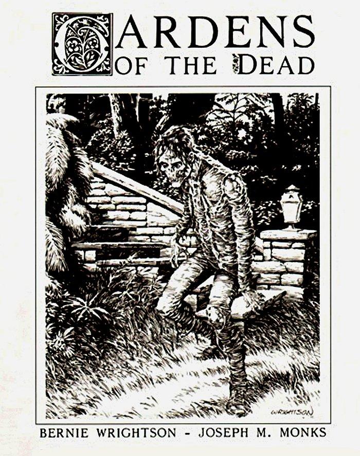 Gardens of the Dead Portfolio cover