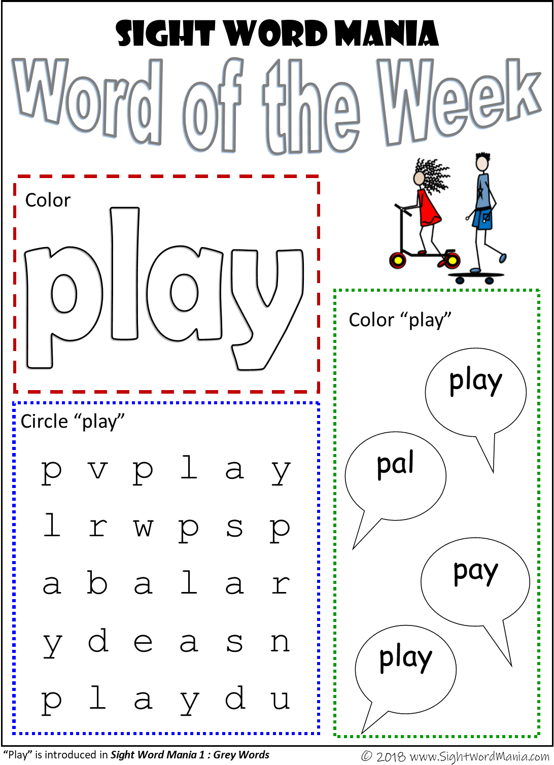 Sight Word Adventures Blog