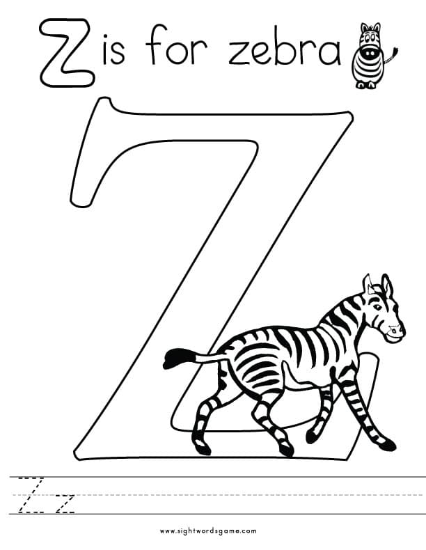 Printable Alphabet Coloring Sheets Letter E