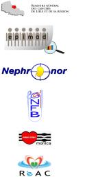 Logos des équipes de santé partenaires de SIGLES