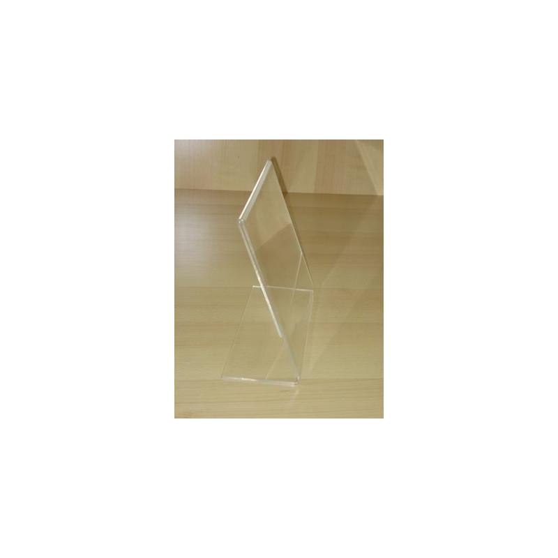 Chevalet Porte Etiquette Transparent Plexi Luxe Achat