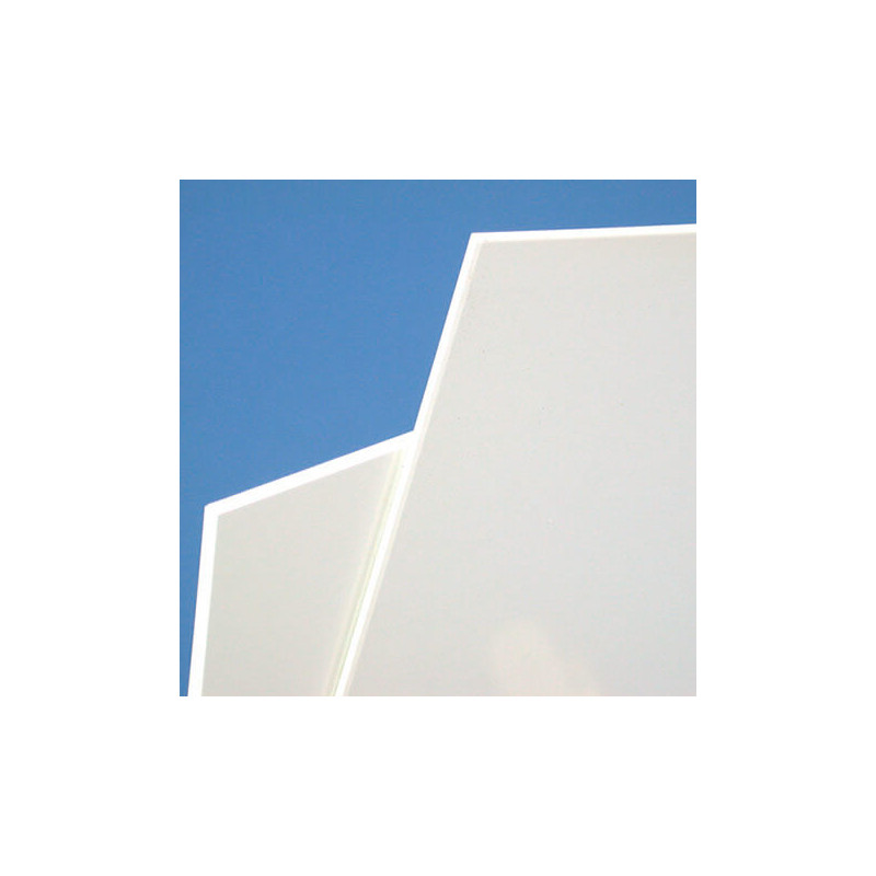 plaque pvc blanc rigide d epaisseur 1 a 3 mm