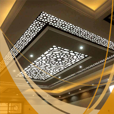 plafond moderne