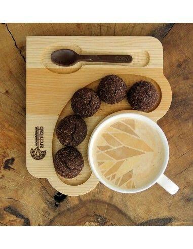 Plateau décoratif pour café