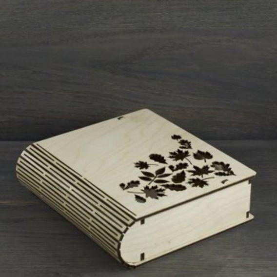 Boîte décorative à livres