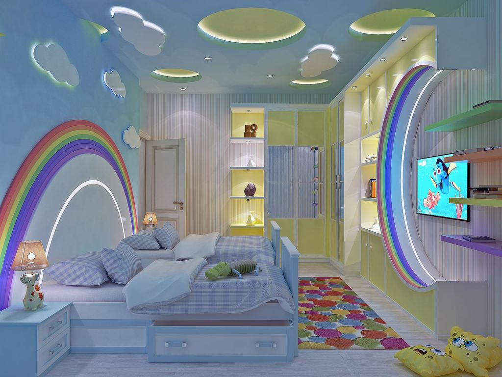Chambre à coucher complète pour ado et enfant Originales et de Qualité pas cher