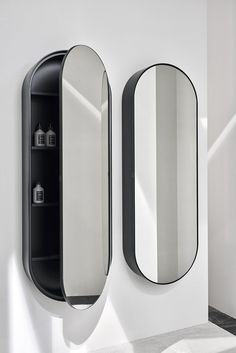 Miroir salle de bain avec étagère