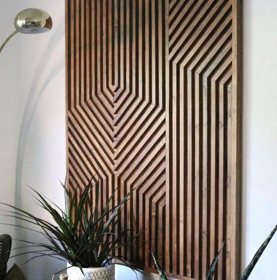 Dèco mural en bois
