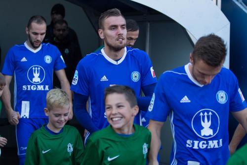 Tomáš CHorý nastupuje k ligovému utkání s Jabloncem