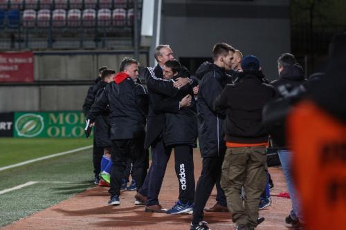 Objetí trenérů A-týmu SK Sigma Olomouc