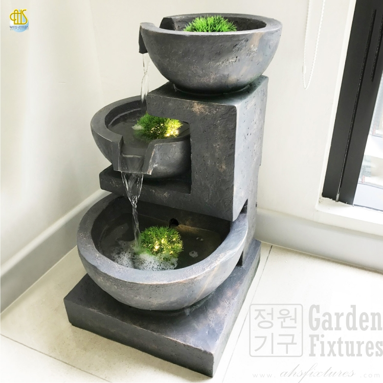 Three Tier Garden Fountain