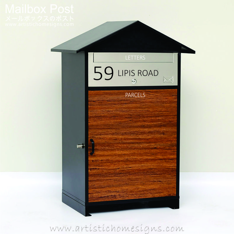 Parcel Pal Letter Drop Box Mailbox