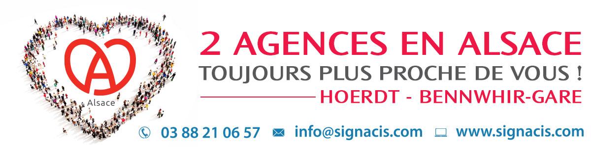 Agences Signacis Alsace