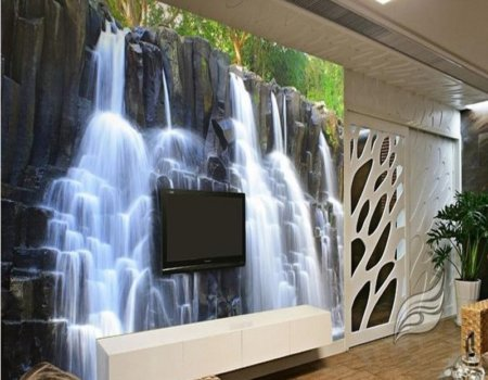 3d-stereoscopic-wallpaper-chinese-mountain-water-waterfall-TV-backdrop-wallpaper-living-room-bedroom-murals-papel-de