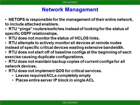 NETOPS Trends From NTC - Network Management